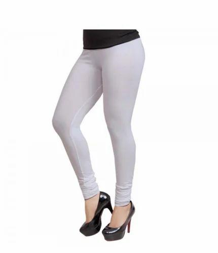 a6272d82d6dd85 Lequeens Women Leggings-03-White, महिलाओं की लेगिंग ...
