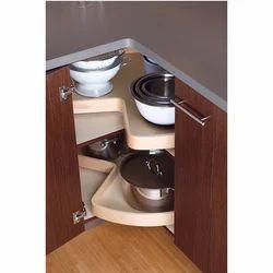 Grey, Cream And Brown Kitchen Corners