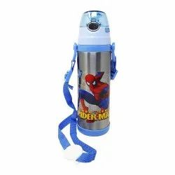Stainless Steel Screw Cap 500ml Kids SS Water Bottle, Capacity: 500 Ml, Features: Corrosion Resistance