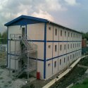Color Coated Prefabricated Industrial Building