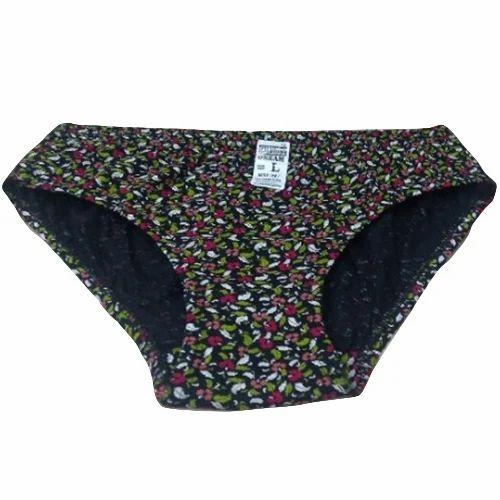 6debe821f21325 Cotton Ladies Floral Printed Underwear, Size: XL, Rs 40 /piece | ID ...