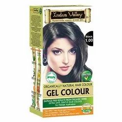 Indus Valley Organic Natural Hair Color - 1.0 Black