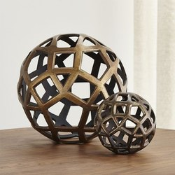 Gold Aluminum Decorative Balls