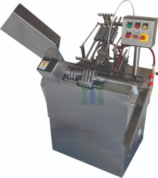 Automatic Two Nozzle Ampoule Filling And Sealing Machine