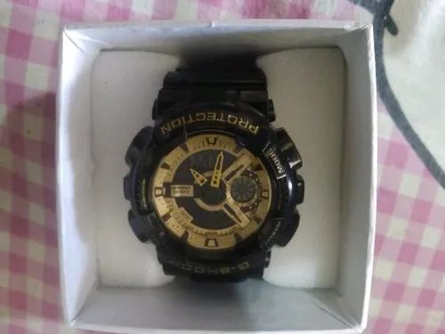 Gold G Shock Watch