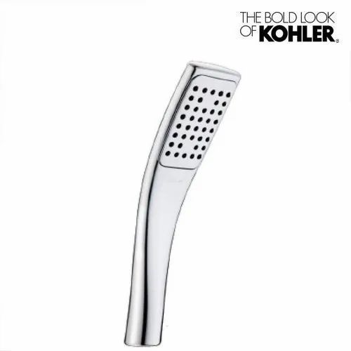 Contemporary Wall Mounted Kohler Rectangular Spatula Hand Shower