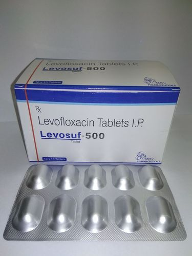 Levosuf 500mg Tablets, Packaging Size: 10x10 Tablets