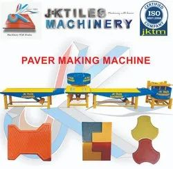 Vibrating Table Machine For Interlocking Tiles