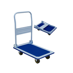 Rexello Foldable Cast Iron Platform Trolley