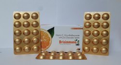 Brisimmune-C Vitamin C, Citrus Bioflavonoids With Zinc Chewable Tablets