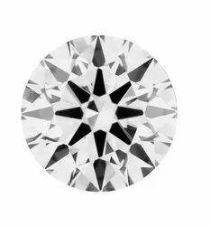 1.11ct Lab Grown Diamond CVD G VS2 Round Brilliant Cut  HRD Certified Stone