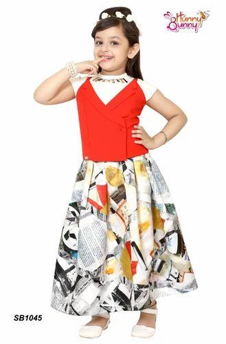cfa1f5394c684 Ambika Clothing . Girls Western Wear