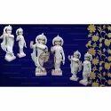 Handmade Radha Krishna Marble Statue
