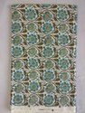 Hand Block Print Cotton Running Fabric