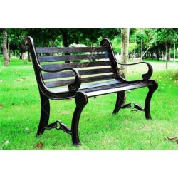 Metal Public Place Seating Garden Chair, Warranty: 1 Year