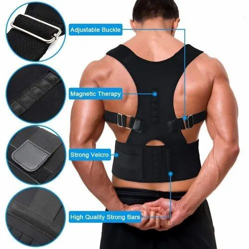 Abdominal Asbob Magnetic Posture Corrector For Lower And Upper Back Pain,  Size: Universal, Model Name/Number: Ah-Pc-01, | ID: 22244825830