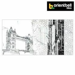 Orientbell OTF TOWER BRIDGE ART Decorative Wall Tiles
