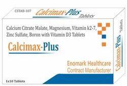 Calcium Citrate Malate Magnesium Vitamin K27 Zinc, Boron And Vitamin D3