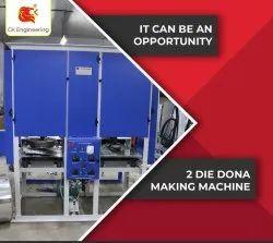Fully Auto Pattal Dona Machine