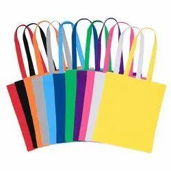 Saro Handled Coloured Cotton Bags