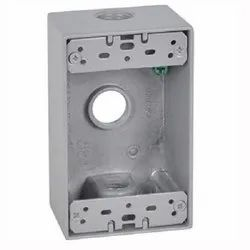 Galvanized Corrosion Resistant Electrical Box