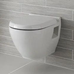 Eros White Ceramic Wall Hung Toilet