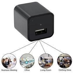 1080P HD Mini USB Wall Charger Hidden Spy Camera