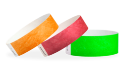 Personalized Tyvek Wristbands