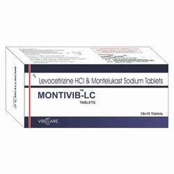 Levocitrizine 5mg Montelukast Sodium 10mg