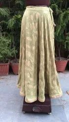 Cotton Long Jaipur Skirts, Size: Large