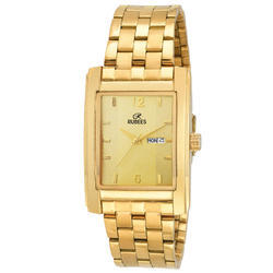 Golden Gents Golden Chain Wrist Watch