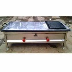 Stainless Steel SS Chapati Plate Cum Puffer
