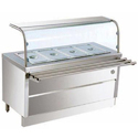 Four Compartment Bain Marie Counter, For Commercial