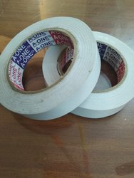 Single Sided White Plain Tissue Tape, Size: 1/2 inch
