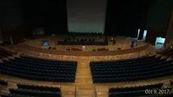 Auditorium acoustic Flooring Services