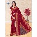 Meena Party Wear 1408 Ladies Designer Cotton Saree, With Blouse
