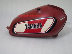 New Yamaha Xt Tt 500 Painted Steel Petrol Tank 1977 Model