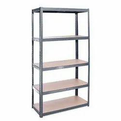 Mild Steel Free Standing Unit MS Industrial Display Retail Rack, 5 Shelves
