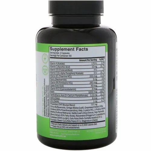 Hair Growth Vitamins >> Zenwise Health Daily Hair Growth Vitamins With Dht Blocker Vegetarian Capsules