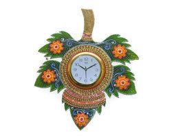 Clock 5 Leaf