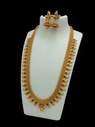D8070 Brass Temple Jewellery