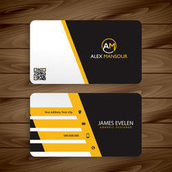 Visiting cards at best price in india rectangular visiting card reheart Gallery