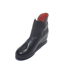 Ladies Synthetic Leather Boot, Size: 36-40
