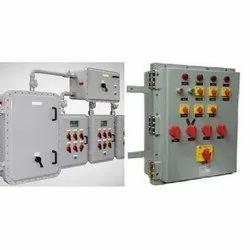 10 Kw Three Phase, Single Phase Flame Proof Panel