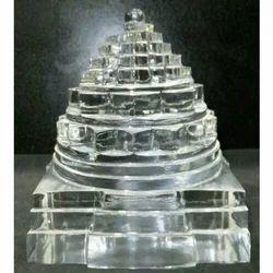Transparent Crystal Quartz Shree Yantra
