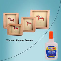 Wooden Picture Frames Adhesive
