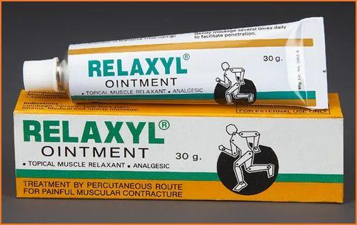 how many muscle relaxants gel