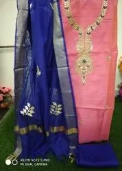 Chanderi Fabric Suit