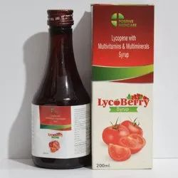 Lycopene with Multivitamins & Multiminerals Syrup