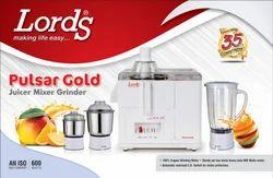 Lords 500 Pulsar Gold-Pulsar New Juicer Mixer Grinder, For Kitchen, Capacity: 2 Jars